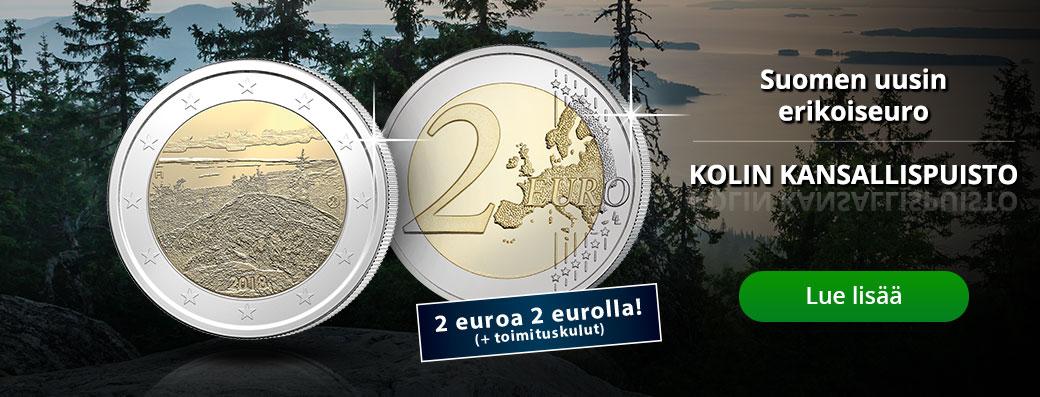 2 euroa kahdella eurolla