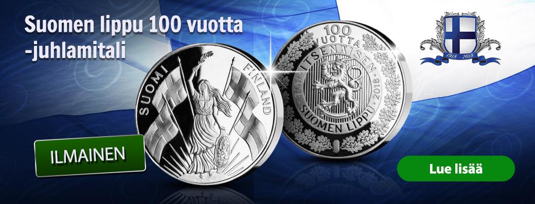 Suomen lippu 100 vuotta -juhlamitali