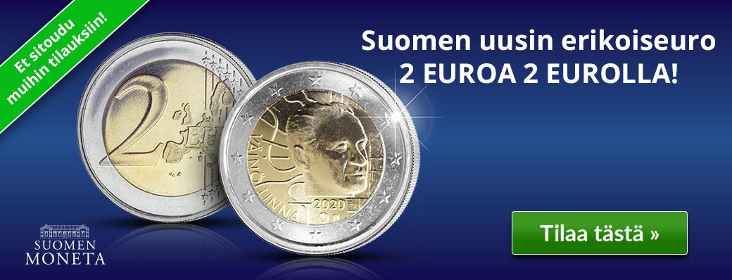 2 euroa 2 eurolla!