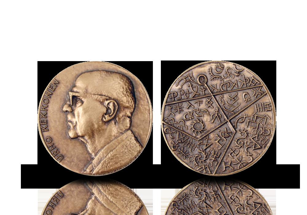 Suomen presidentit -mitalikokoelma