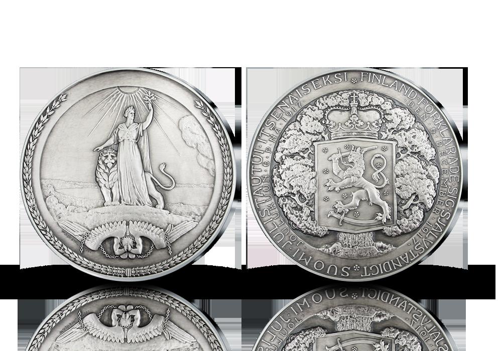 Suomen itsenäiseksi julistautuminen 1917 -muistolyönti