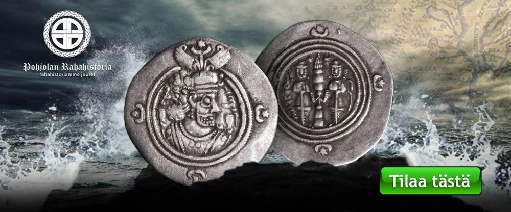 Tilaa alkuperäinen sassanidien drakhma