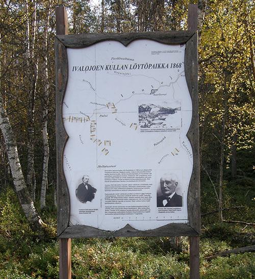 Taulu Ivalojoen Nulkkamukkassa