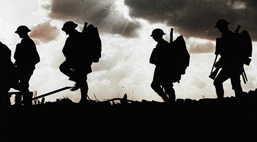 Ensimmäisen maailmansodan sotilaita