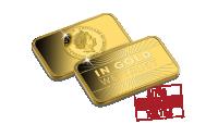 Rahaharkossa on 1/100 unssia (0,31 g) kultaa