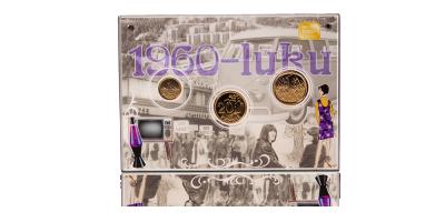 Alkuperäiset 1960-luvun markat kullattuina
