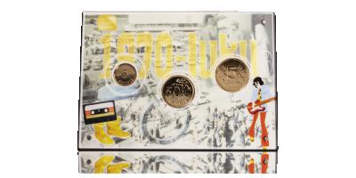 Alkuperäiset 1970-luvun markat kullattuina