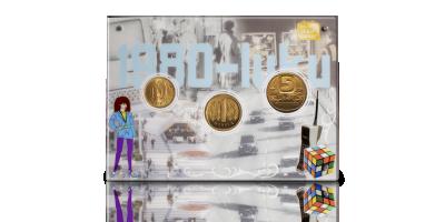 Alkuperäiset 1980-luvun markat kullattuina