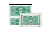 Alkuperäinen 5 markan seteli vuodelta 1939