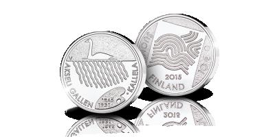 Akseli Gallen-Kallela 10 euron juhlaraha