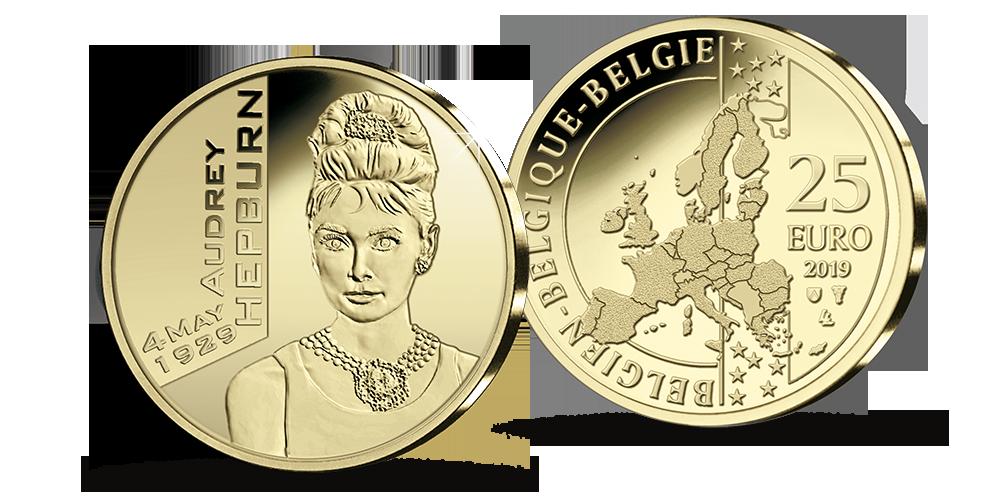 Audrey Hepburn -kultaraha 2019