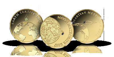 Aurinkokunta kultarahoissa -kokonaisuus