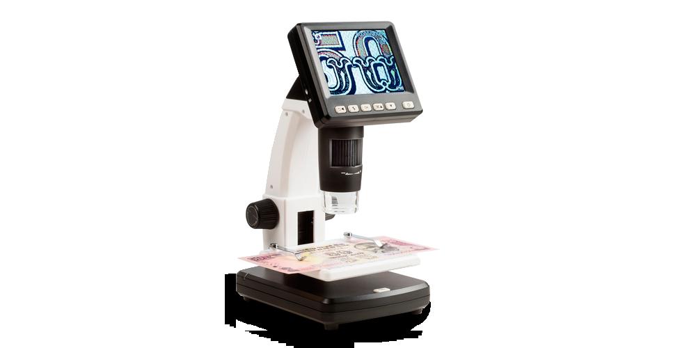 Digitaalinen mikroskooppi LCD -näytöllä