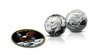 Eisenhower-juhlaraha ja Apollo 11-hihamerkki