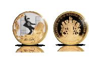Legendaarinen Jailhouse Rock uudessa kullatussa rahassa!