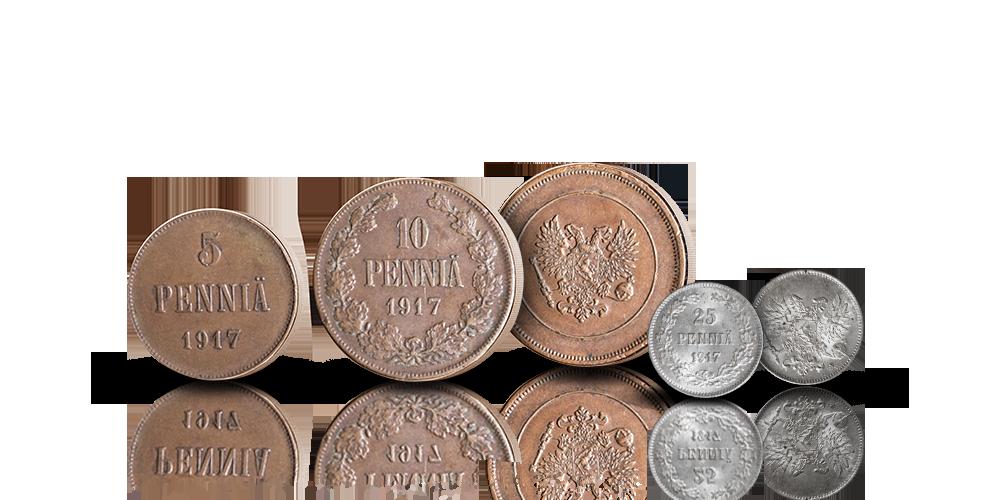 Itsenäisen Suomen ensimmäiset pennit
