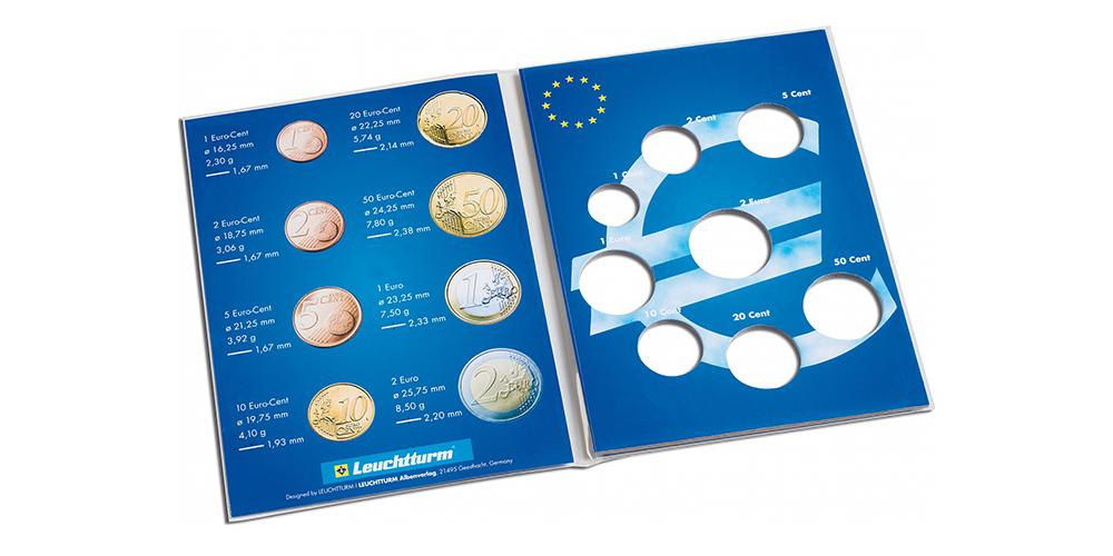 Tilaa yhden maan käyttörahoille 1 sentistä 2 euroon