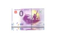 Freddie Mercury sveitsi -nollaseteli, etupuoli