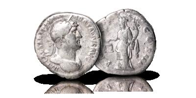 Keisari Hadrianuksen denaari