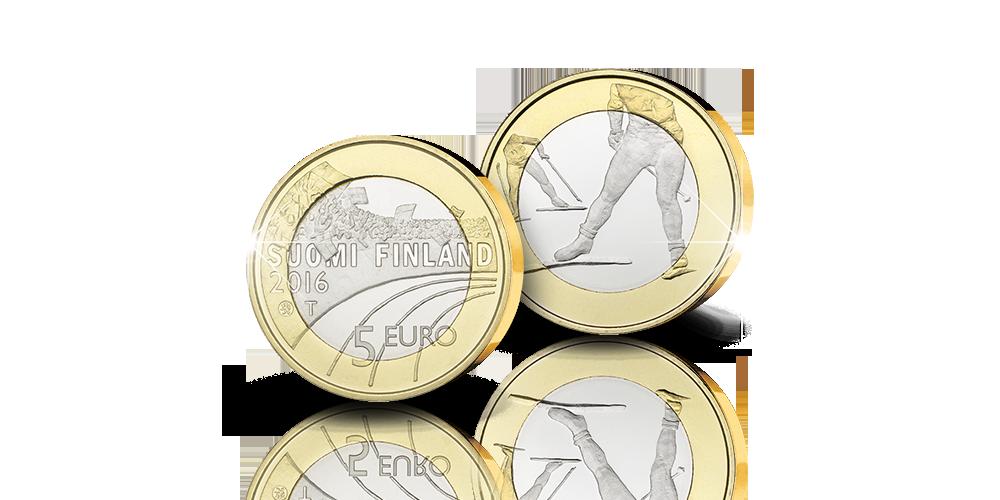 5 euron Hiihto -juhlaraha