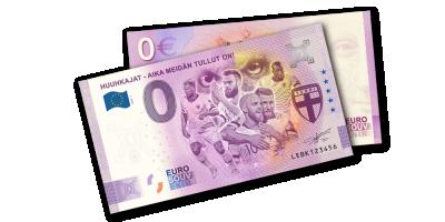 Huuhkajat 0 € -seteli 2020