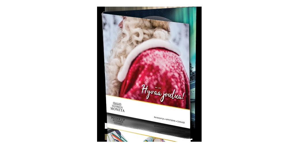 Hyvää joulua! -rahasarja sisältää vuoden 2021 suomalaiset metallirahat