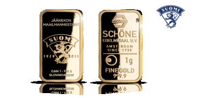 Jääkiekon maailmanmestaruus 2019 1g -kultaharkko