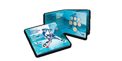 Jääkiekon MM-kisojen virallinen rahasarja vuodelta 2015