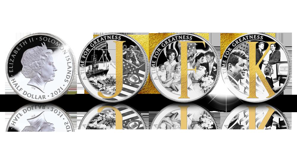Presidentti Kennedyn virkaanastujaisten muistorahakokonaisuus
