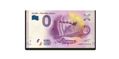 Joulu 0€-seteli 2019