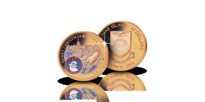 Jouluraha (1/10 oz) Aitoa kultaa ja timanttipölyä!