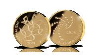 100 euron kultaraha kunnioittaa Suomen Journalistiliiton 100-vuotisjuhlavuotta