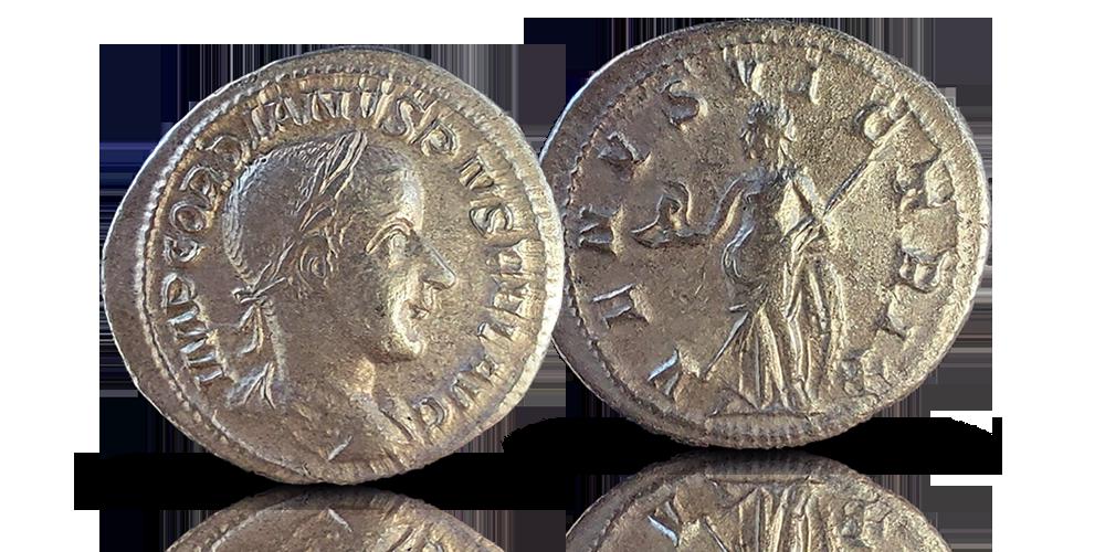 Keisari Gordianus III:n hopeadenaari