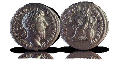 Keisari Marcus Aureliuksen hopeadenaari