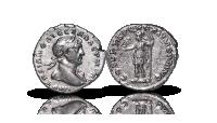 Keisari Trajanuksen hopeadenaari