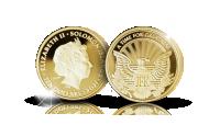 Kultaraha Kennedyn virkaanasitumisen kunniaksi.