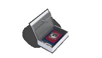Säilytä tallelokero-kirjassa arvotavarat, tärkeitä asiakirjoja, käteistä ja koruja