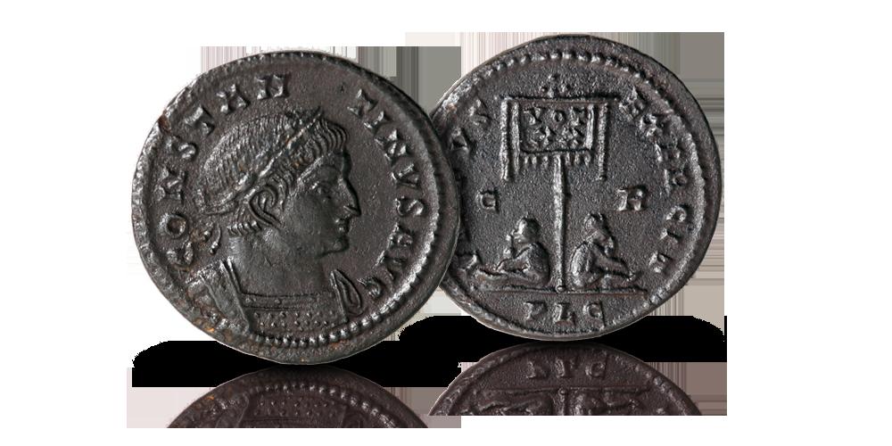 Konstantinus I Suuren pronssifollis