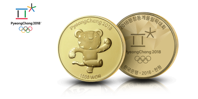 "Korean olympiaraha ""Soohorang"""