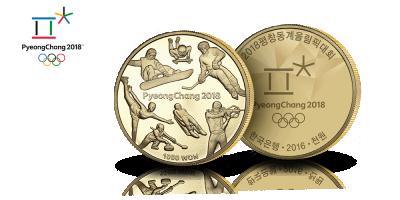 """Korean olympiaraha """"Talvilajit"""""""