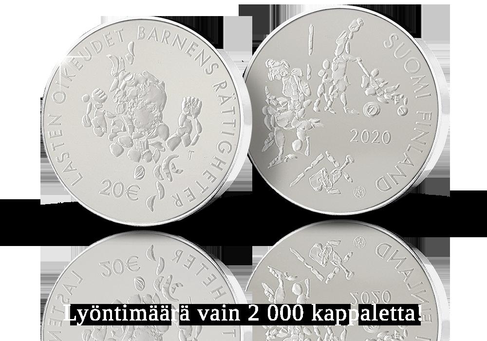 Mannerheimin Lastensuojeluliitto 100 vuotta -juhlaraha