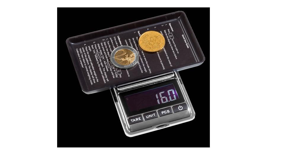 LIBRA 500 digitaalinen kolikkovaaka astialla