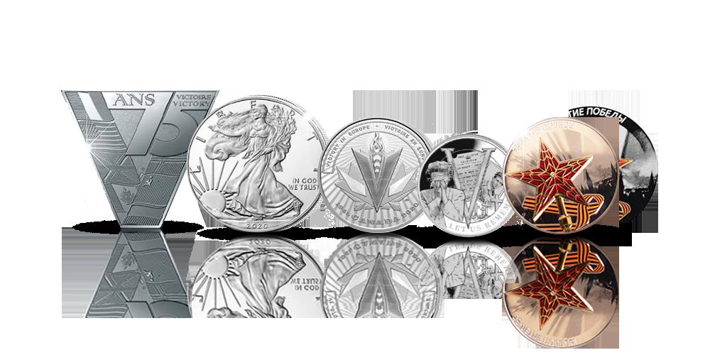 Liittoutuneiden hopearahat