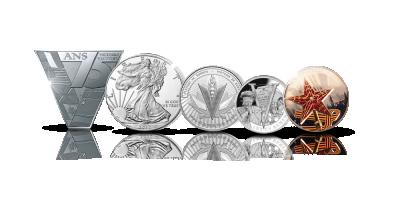 Toisen maailmansodan liittoutuneiden maiden rahakokoelma