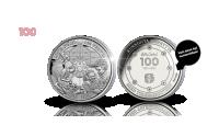 Numeroitu Lotta Svärd 100 vuotta muistomitali