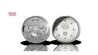 Lotta Svärd 100 vuotta muistomitali