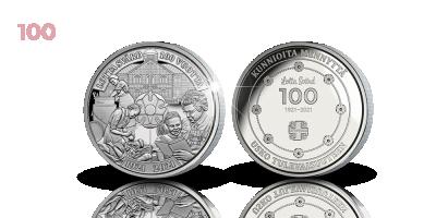 Lotta Svärd 100 vuotta -muistomitali