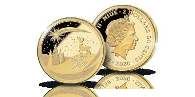 Maailman pienet kultarahat -kokoelma: Jouluraha 2020