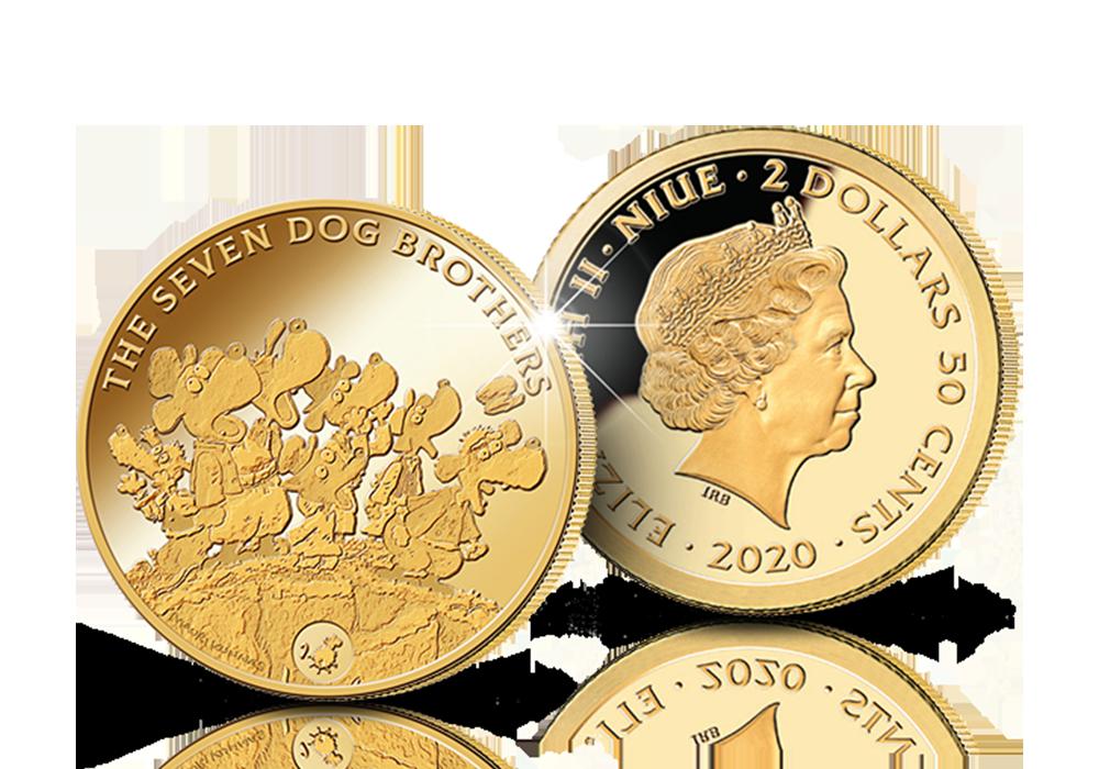 Mauri Kunnaksen Seitsemän koiraveljestä nyt kultarahassa!