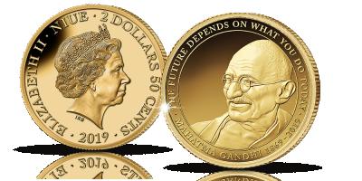 Mahatma Gandhi -kultaraha 2019, Niue